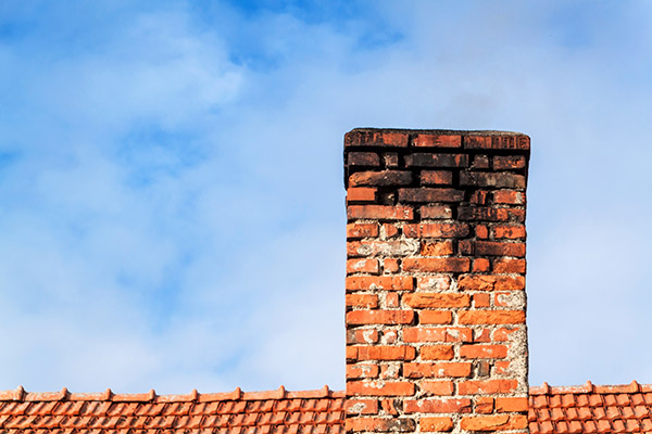 Chimney without liner.